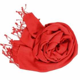 Etole soie et cachemire NZO SBARBERI rouge