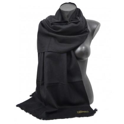 Etole67cm en 100% cachemire NZO SBARBERI noire
