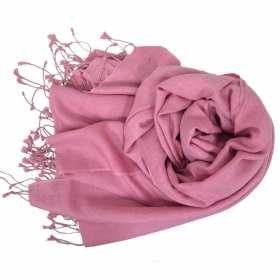 Etole soie et cachemire NZO SBARBERI rose
