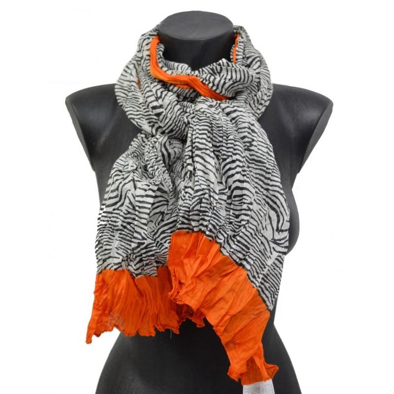 Cheche zebre et orange