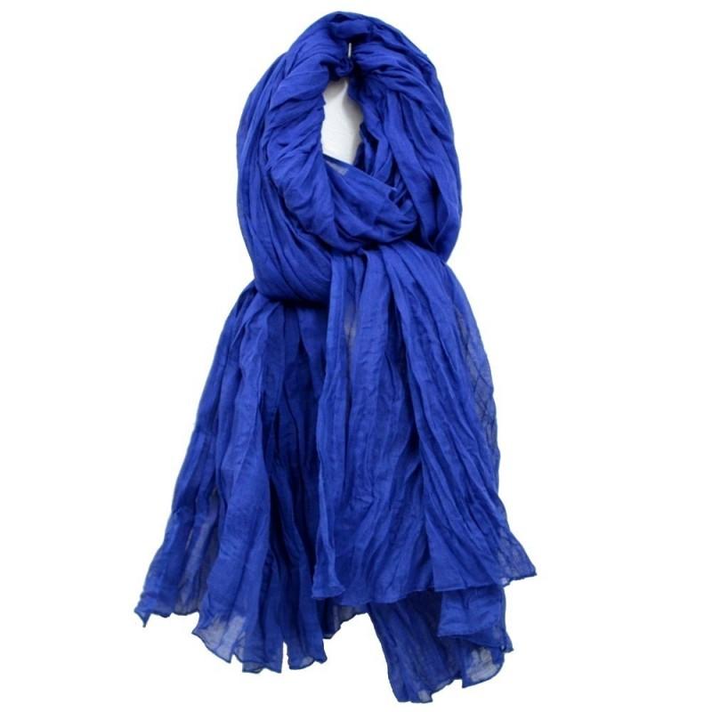 Cheche coton bleu gitane