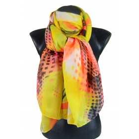 Cheche polyester coloré - corail