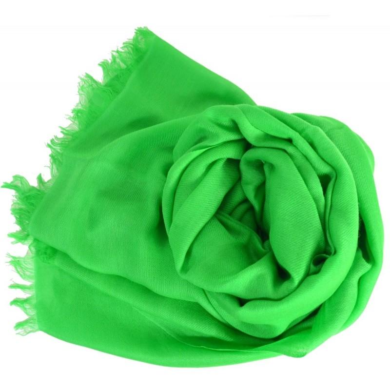 Vrai pashmina vert