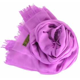 Vrai pashmina lilas