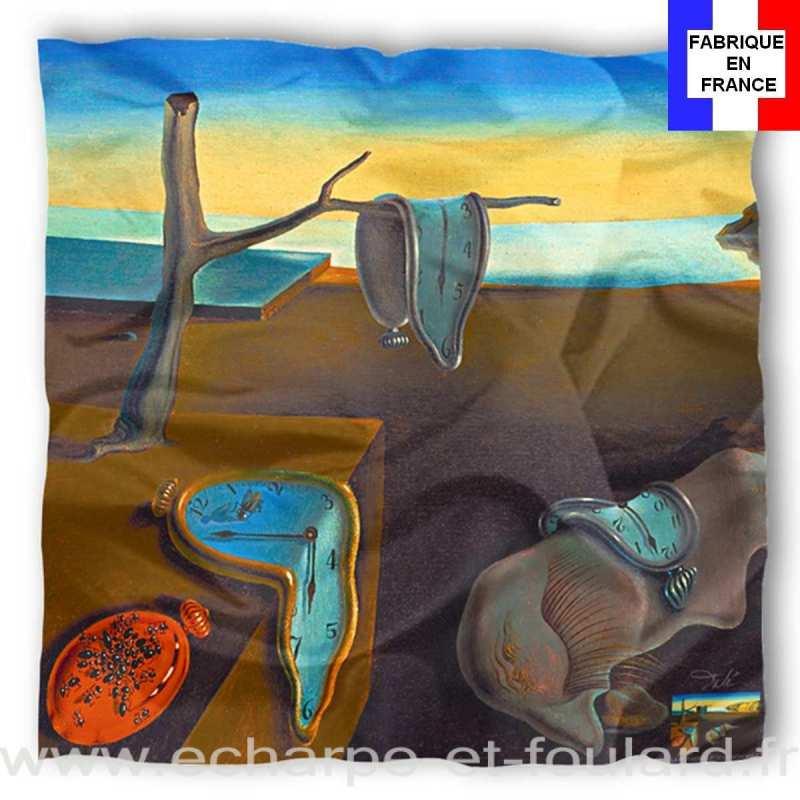 Foulard en soie Dali, La persistance de la mémoire