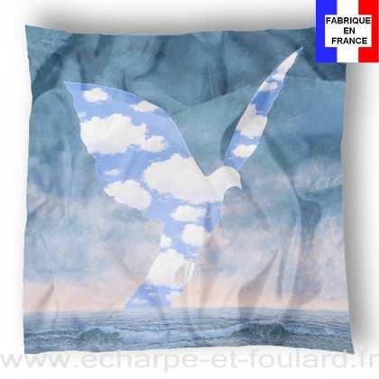 Foulard en soie Magritte, La Grande Famille