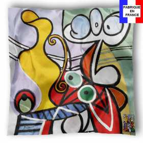 Foulard en soie Picasso, Grande nature morte au guéridon