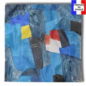 Foulard en soie Poliakoff, Composition pour carnet enluminures