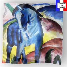 Foulard en soie Franz, Le Cheval Bleu