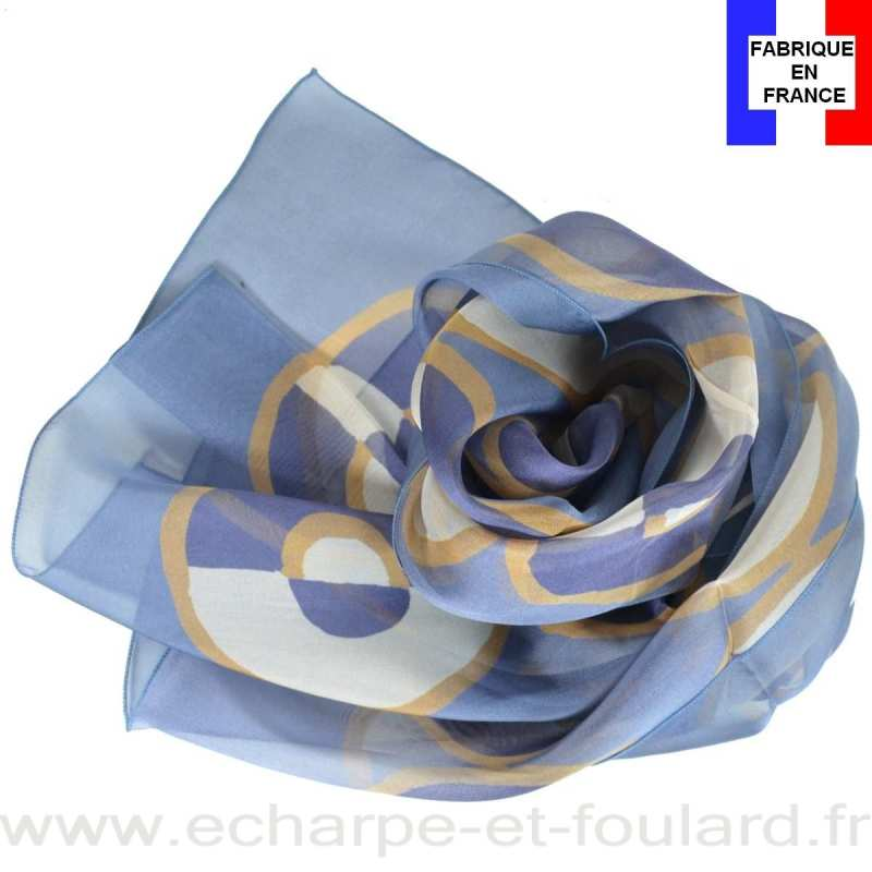 0ed2f783235a Echarpe soie Leleu - Ronds