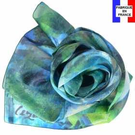 Echarpe soie Cézanne - Le grand Pin