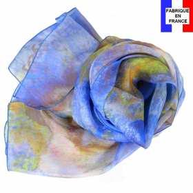 Echarpe soie Degas - Danseuse en Bleu