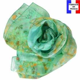 Echarpe soie Degas - Danseuse en Vert