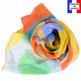 Echarpe soie Delaunay - Rythme, Joie de Vivre