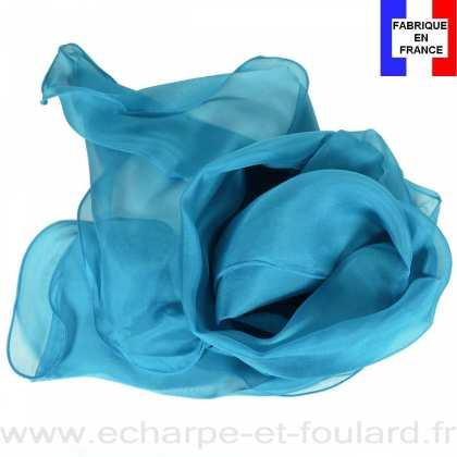 Foulard soie canard bords ondulés fabriqué en France 6bcf480ef3b