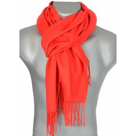 Echarpe très douce cachemire-laine rouge