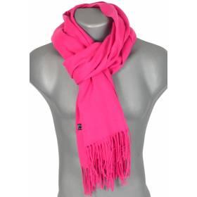 Echarpe très douce cachemire-laine rose