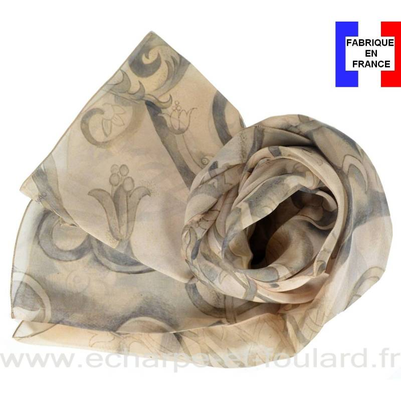 Echarpe soie Chagall - La Danse