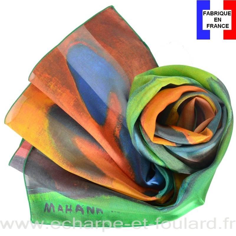 Echarpe soie Gauguin - Mahana No Atua