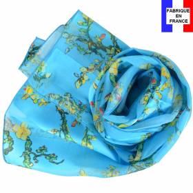 Echarpe soie Van Gogh - Amandiers
