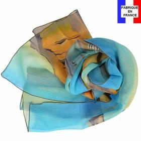 Echarpe soie Dali - La persistance de la mémoire