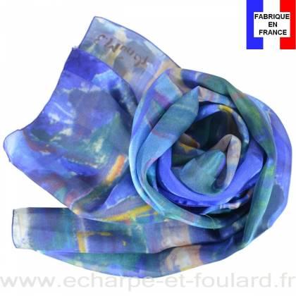 Echarpe soie Munch - Le Tronc Jaune