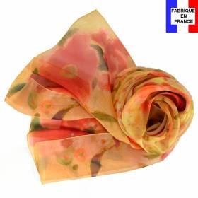 Echarpe soie Marquet - La Femme Blonde