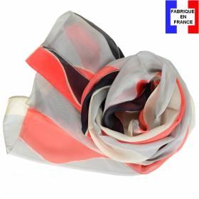 Echarpe soie Delaunay – Vagues