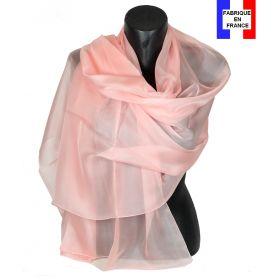 Etole cérémonie en soie rose clair fabriquée en France