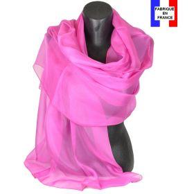 Etole cérémonie en soie rose fabriquée en France