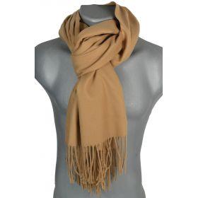 Echarpe très douce cachemire-laine taupe