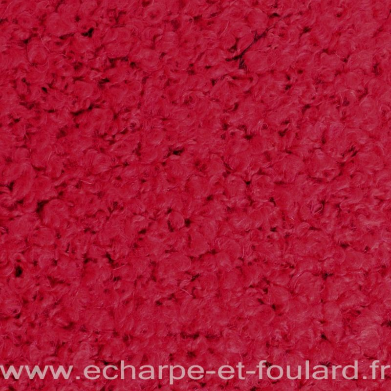 Echarpe col Cloé rouge made in France