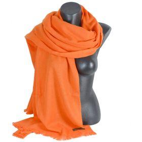 Etole 67cm en 100% cachemire NZO SBARBERI orange
