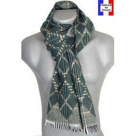 Echarpe Pacha verte made in France