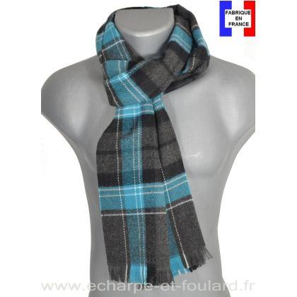 Echarpe ecossaise bleue Hugo