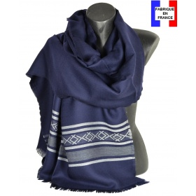 Etole mérinos Latino bleue Made in France