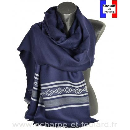 Etole mérinos Latino bleue Made in France