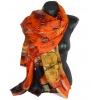 Etole en soie portrait Adèle Klimt