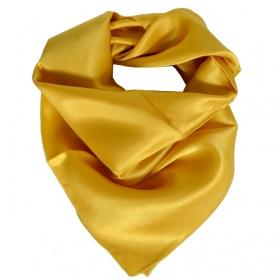Carré en soie or