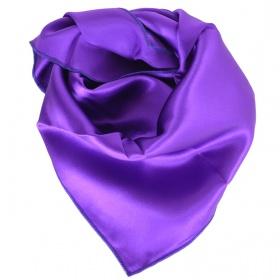Carré en soie violet