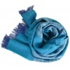 Echarpe homme Nino turquoise