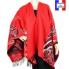 Poncho Aladin rouge made in France