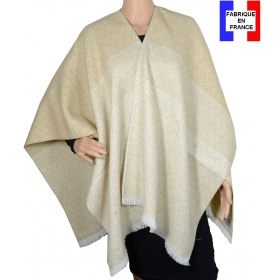Poncho After beige made in France