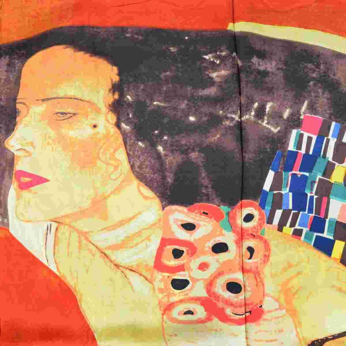 echarpe en soie Klimt